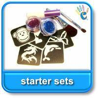 Glitter Tattoo starter sets